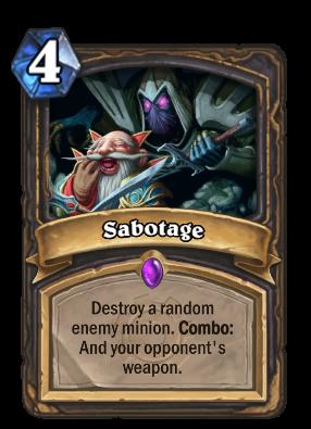 Sabotage Card Image
