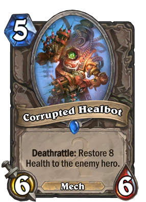 Corrupted Healbot Card Image