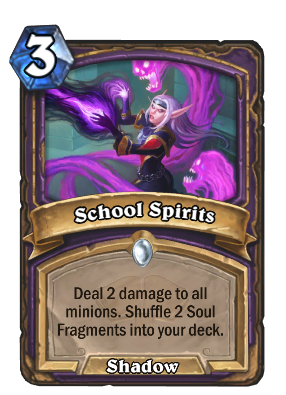 School Spirits Card Image