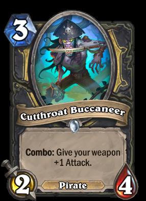 Cutthroat Buccaneer Card Image