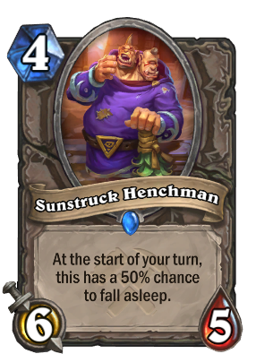 Sunstruck Henchman Card Image