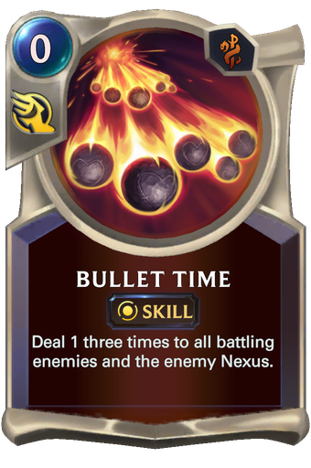 Bullet Time Card Image
