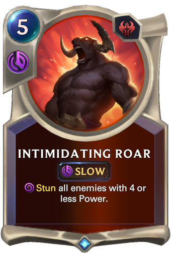 Intimidating Roar Card Image