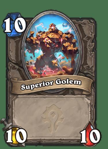 Superior Golem Card Image