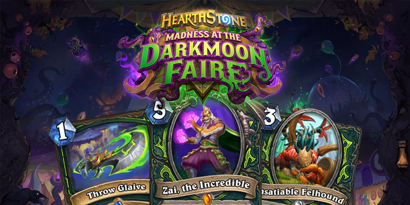 Our Thoughts on Hearthstone's Madness at the Darkmoon Faire Demon Hunter Cards