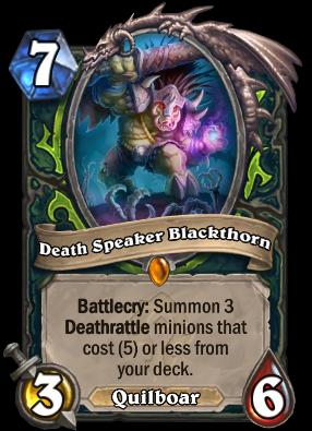 Death Speaker Blackthorn Card Image