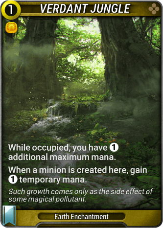 Verdant Jungle Card Image