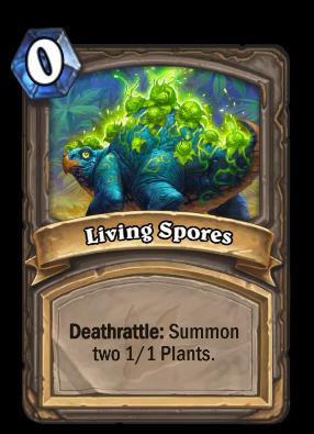 Living Spores Card Image