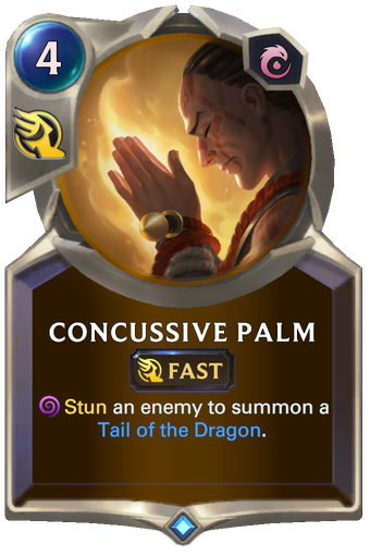 Concussive Palm Card Image
