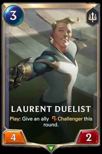 Laurent Duelist Card Image