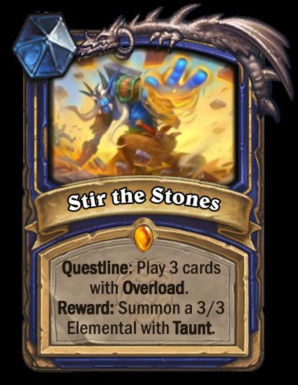 Stir the Stones Card Image