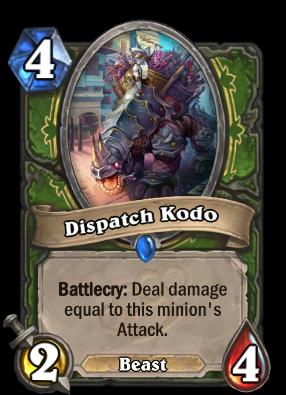 Dispatch Kodo Card Image