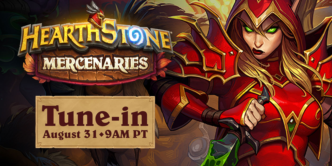 Hearthstone's Mercenaries Debut Stream - Everything New We've Learned About the Mode Releasing in October