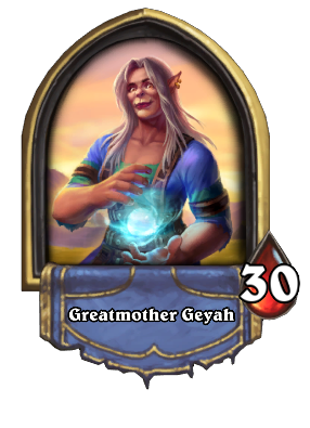 Greatmother Geyah Card Image