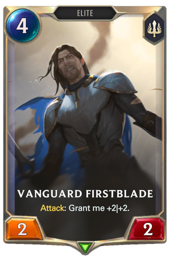 Vanguard Firstblade Card Image