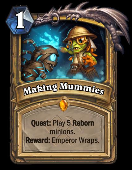 Making Mummies Card Image
