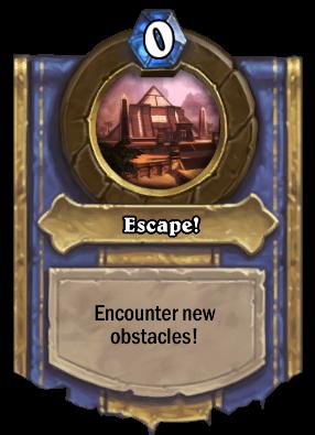 Escape! Card Image