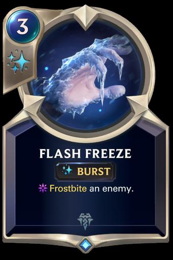 Flash Freeze Card Image