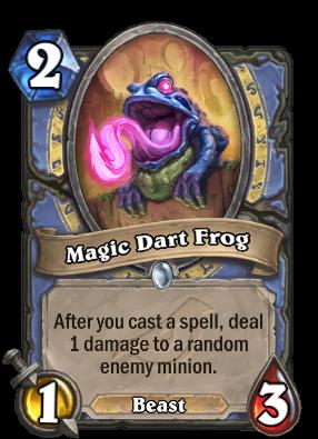 Magic Dart Frog Card Image