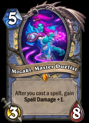 Mozaki, Master Duelist Card Image