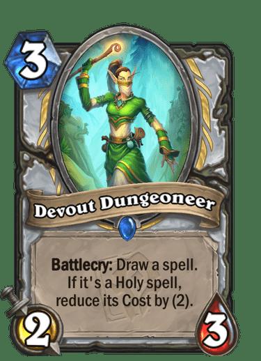 Devout Dungeoneer Card Image