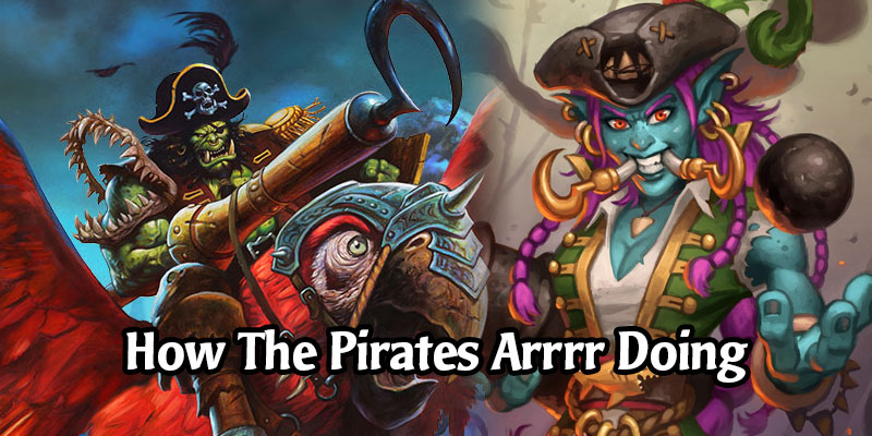 Statistically, How Are All The New Pirate Friends in Hearthstone's Battlegrounds Doing So Far?