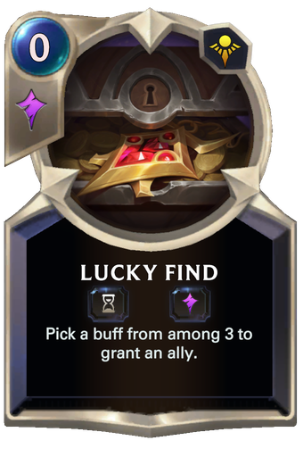 Lucky Find Card Image