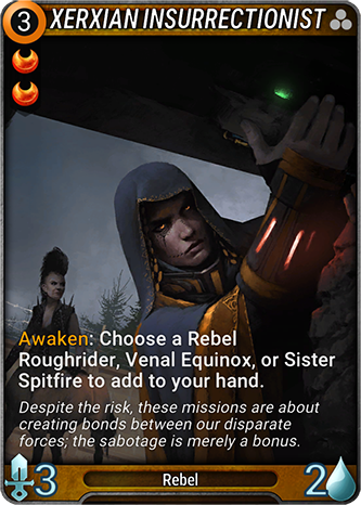 Xerxian Insurrectionist Card Image