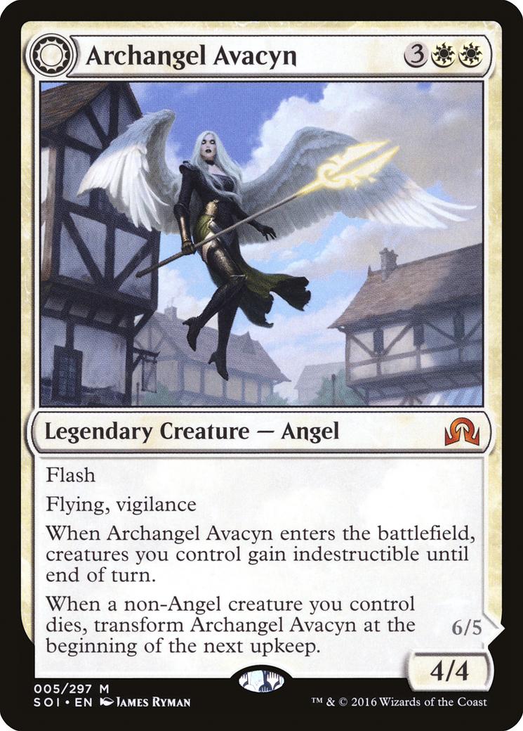 Archangel Avacyn // Avacyn, the Purifier Card Image