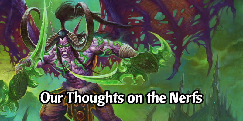Demon Hunter Gets Nerfed This Holiday Season - Here Are Our Thoughts on The December Hearthstone Card Nerfs