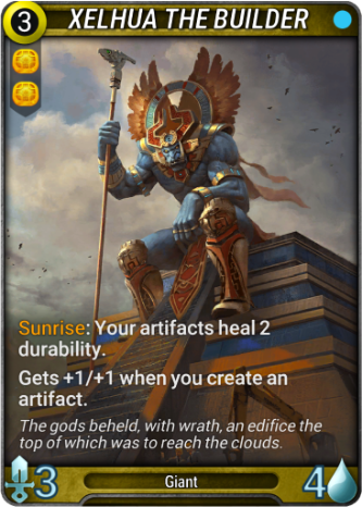 Xelhua the Builder Card Image