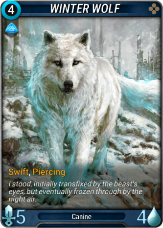 Winter Wolf Card Image