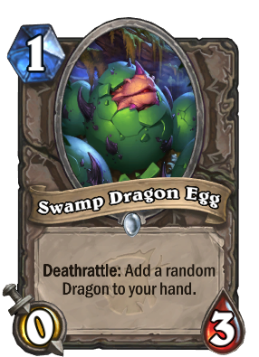 Swamp Dragon Egg Card Image