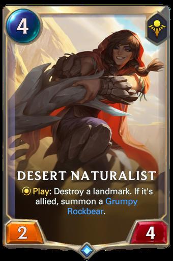 Desert Naturalist Card Image