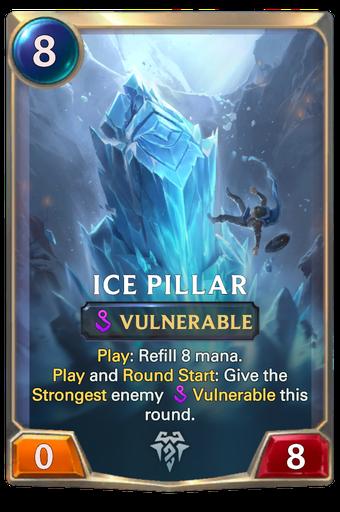 Ice Pillar Card Image