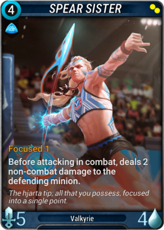Spear Sister Card Image