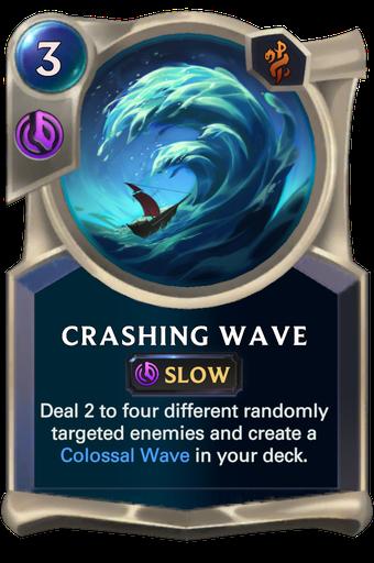 Crashing Wave Card Image