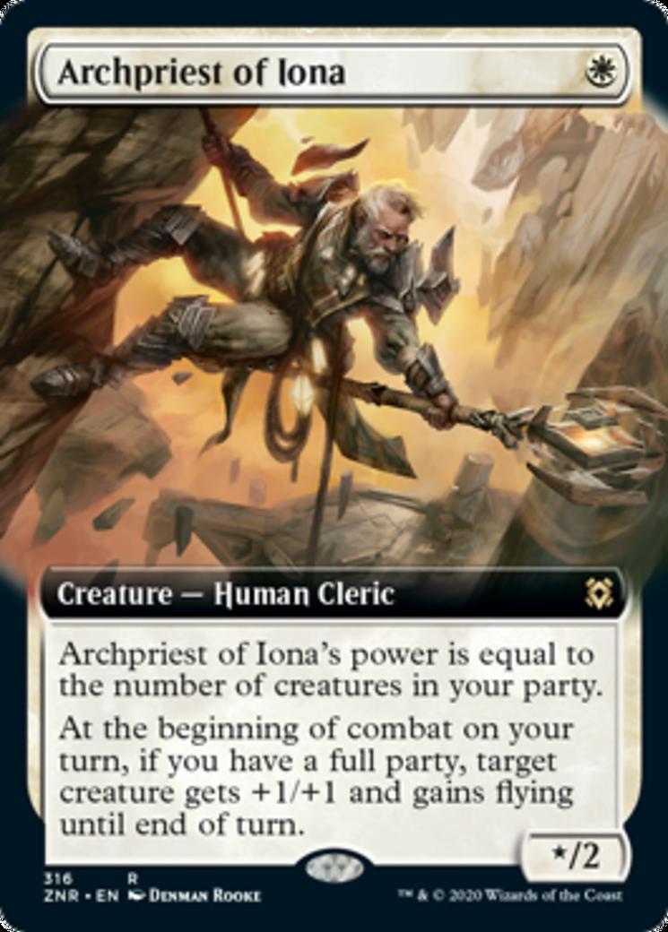 Archpriest of Iona Card Image