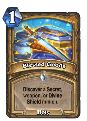 Blessed Goods Card Image