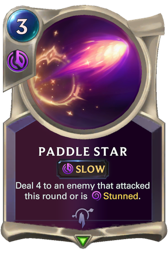 Paddle Star Card Image