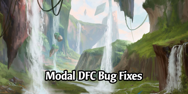 Today's MTG Arena Patch Fixes Issues with Modal DFCs, Thieving Skydiver, and Terror of the Peaks