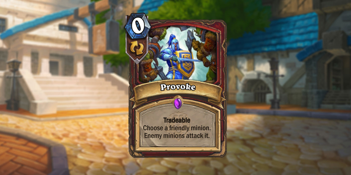 New Warrior Card Revealed for United in Stormwind by Budilicious - Provoke
