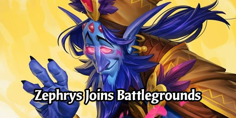Hearthstone Battlegrounds Update for 18.6 - Zephrys Added to the Hero Pool, Party Rating Adjustments
