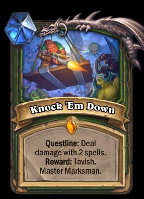 Knock 'Em Down Card Image