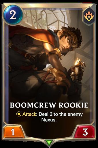 Boomcrew Rookie Card Image