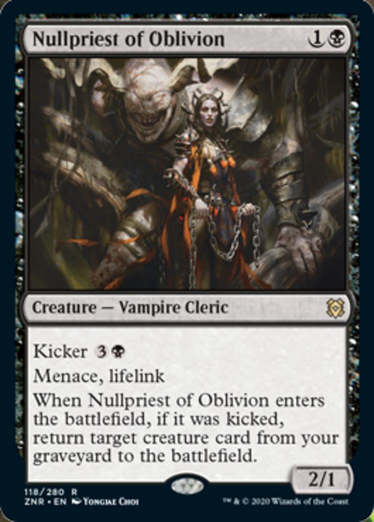 Nullpriest of Oblivion Card Image