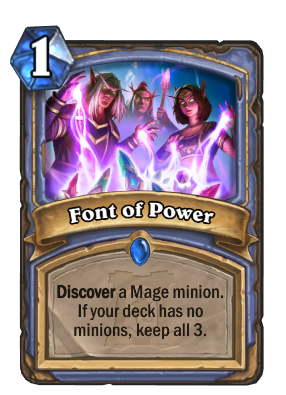 Font of Power Card Image