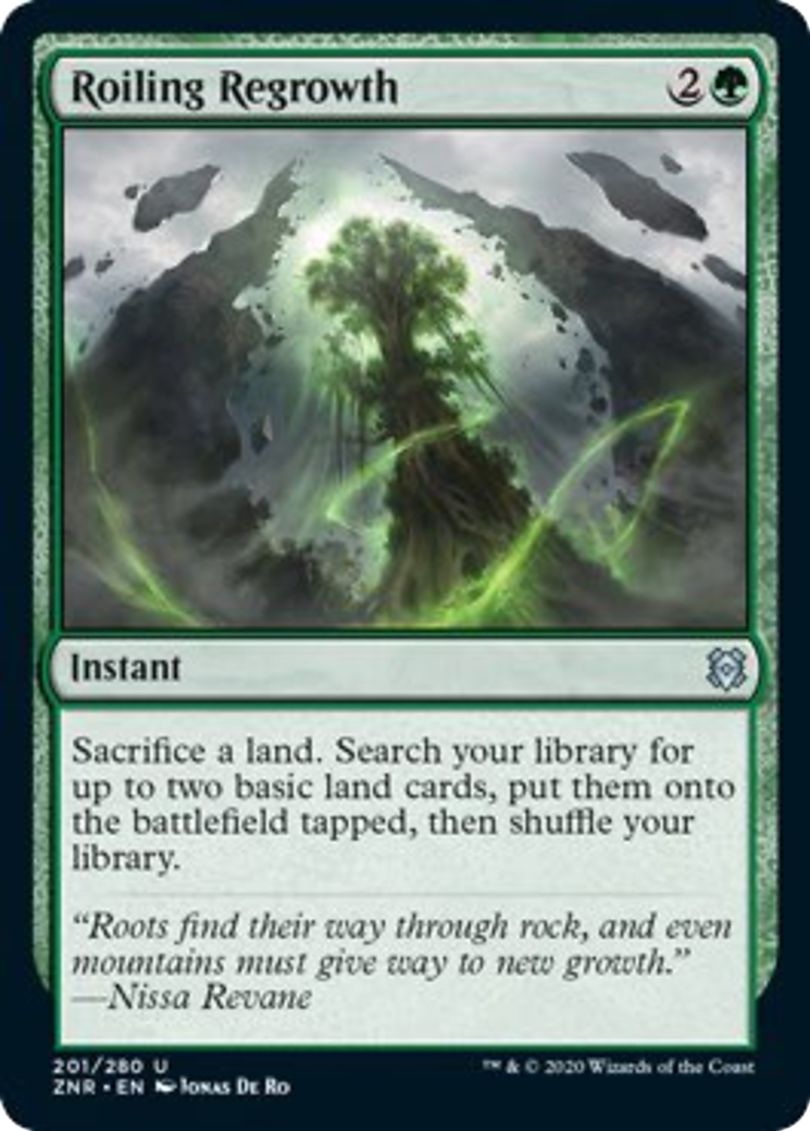 Roiling Regrowth Card Image