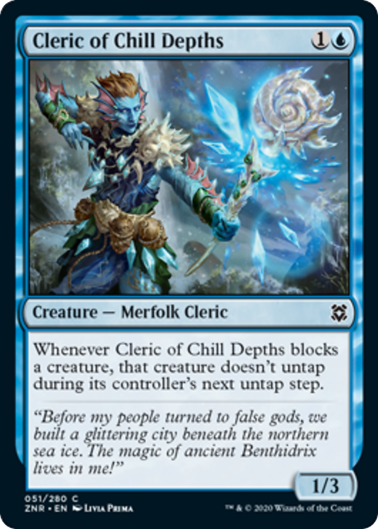 Cleric of Chill Depths Card Image