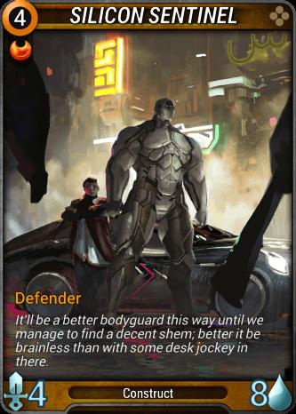 Silicon Sentinel Card Image